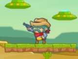 Jeu cowboy vs martians